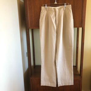 vintage • ultra high waist straight leg trousers